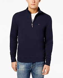 Men's Winston Quarter Zip Sweater, Created for Macy's