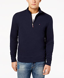 Tommy Hilfiger Men's Winston Mock-Neck Sweater, Created for Macy's