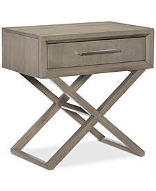Rachael Ray Highline Bedside Chest/Nightstand, USB Outlet