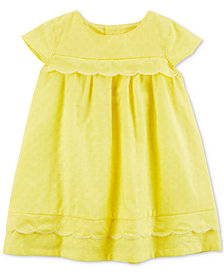 Carter's Yellow Cotton Sundress, Baby Girls
