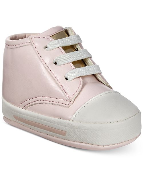 First Impressions Baby Girls Pink Sneakers, Created for Macy's