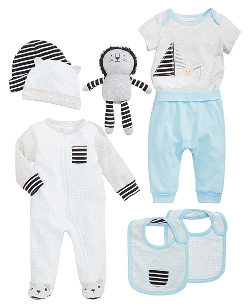 First Impressions Striped Mix & Match Collection, Baby Boys, Created for Macy's