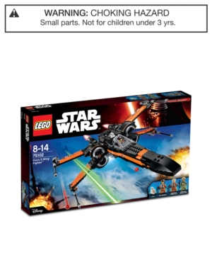 Lego 717Pc Star Wars Poes XWing Fighter 75102