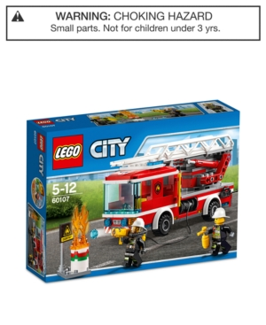 Lego City Fire Ladder Truck Set