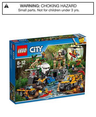 LEGO® City 813-Pc. Jungle Exploration Site Set - Toys & Games - Kids ...