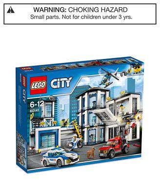 LEGO® City 894-Pc. Police Station Set - Toys & Games - Kids & Baby ...