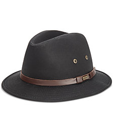 Stetson Men's Gable Rain Safari Hat
