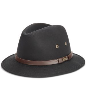 DORFMAN PACIFIC | Stetson Men's Gable Rain Safari Hat | Goxip