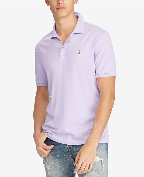 5c59127f6222a Polo Ralph Lauren Men s Classic-Fit Soft-Touch Cotton Polo   Reviews ...