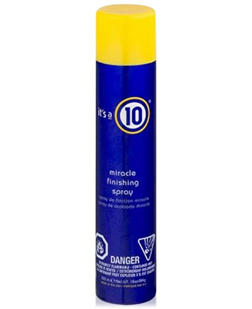 It's A 10 Miracle Finishing Spray, 10-oz., from PUREBEAUTY Salon & Spa