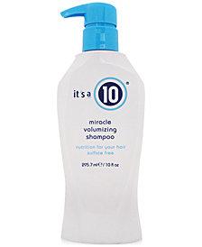 It's a 10 Miracle Volumizing Shampoo, 10-oz., from PUREBEAUTY Salon & Spa