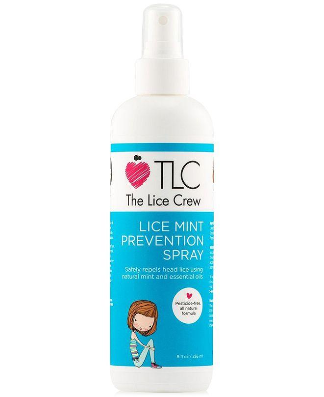 The Lice Crew Lice Mint Prevention Spray, 8-oz., from PUREBEAUTY Salon & Spa