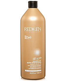 Redken All Soft Conditioner, 33.8-oz., from PUREBEAUTY Salon & Spa