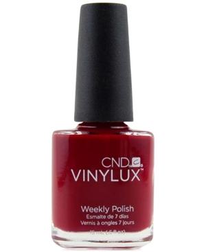 Creative Nail Design Vinylux Rouge Rite Nail