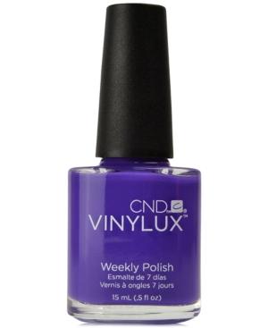 Creative Nail Design Vinylux Video Violet Nail
