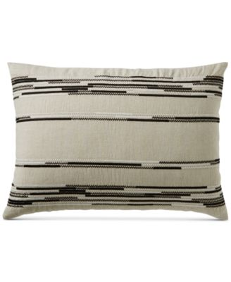 CLOSEOUT! Global Stripe Standard Sham, Created for Macy's