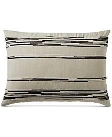CLOSEOUT! Global Stripe Standard Sham, Created for Macy's