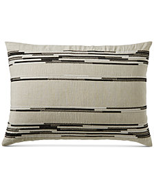 CLOSEOUT! Hotel Collection Global Stripe King Sham, Created for Macy's