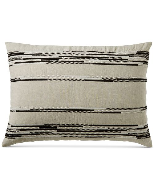 Hotel Collection  Global Stripe Standard Sham, Created for Macy's