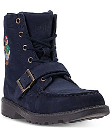 Polo Ralph Lauren  Big Boys'  Ranger High II Bear Boots from Finish Line