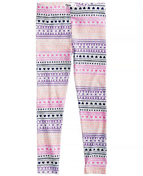 Epic Threads Geo-Print Leggings, Toddler Girls, Created for Macy's