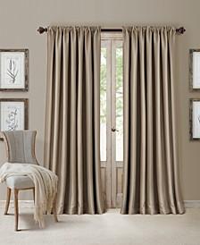 "All Seasons Faux Silk 52"" x 108"" Blackout Curtain Panel"