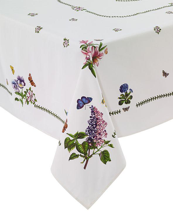 """Portmeirion Botanic Garden 60"""" x 120"""" Tablecloth"""