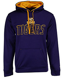 Champion Men's LSU Tigers T-Formation Poly Hoodie