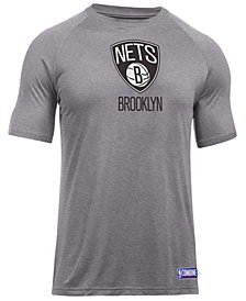 Under Armour Men's Brooklyn Nets Primary Logo T-Shirt