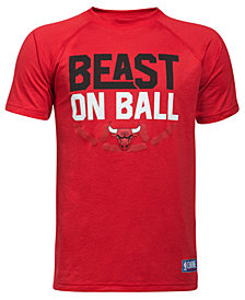 Under Armour Chicago Bulls Combine Beast on Ball T-Shirt, Big Boys (8-20)