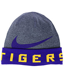 Nike LSU Tigers Training Beanie Knit Hat
