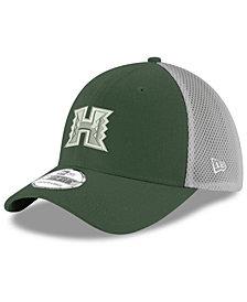 New Era Hawaii Warriors Mesh Back Gray Neo 39THIRTY Cap