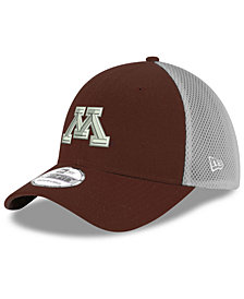 New Era Minnesota Golden Gophers Mesh Back Gray Neo 39THIRTY Cap