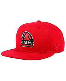 Top of the World Miami (Ohio) Redhawks League Snapback Cap