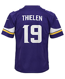 Nike Adam Thielen Minnesota Vikings Game Jersey, Big Boys (8-20)