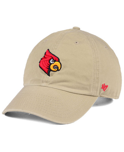 '47 Brand Louisville Cardinals CLEAN UP Cap