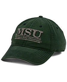 Game Michigan State Spartans NCAA Heather Bar Cap