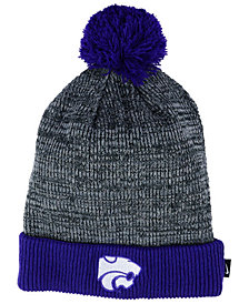 Nike Kansas State Wildcats Heather Pom Knit Hat