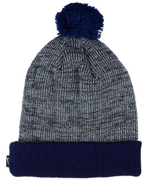 Nike Penn State Nittany Lions Heather Pom Knit Hat - Sports Fan Shop By  Lids - Men - Macy s 489a7951ca0