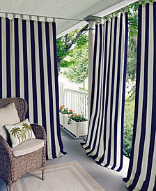 "Elrene Highland Stripe Indoor/Outdoor 50"" x 108"" Panel"