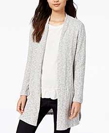 Maison Jules Open-Front Cardigan, Created for Macy's