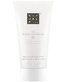 Receive a FREE The Ritual Of Sakura Magic Touch Body Cream with any $45 RITUALS purchase