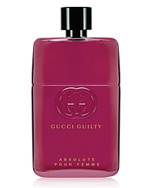 Guilty Absolute Pour Femme Eau de Parfum Spray, 3-oz.