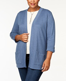 372389c9108 Women s Cotton Sweaters  Shop Women s Cotton Sweaters - Macy s