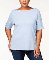 e3827b4234c Plus Size T Shirts  Shop Plus Size T Shirts - Macy s