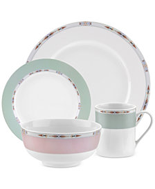 Spode Formal Deco 16-Piece Dinnerware Set, Service for 4