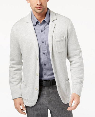 Club Room Men's Knit Blazer, Created for Macy's