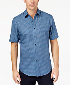 Club Room Men's Pineapple-Print Shirt, Created for Macy's