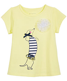 First Impressions Print T-Shirt, Baby Girls, Created for Macy's