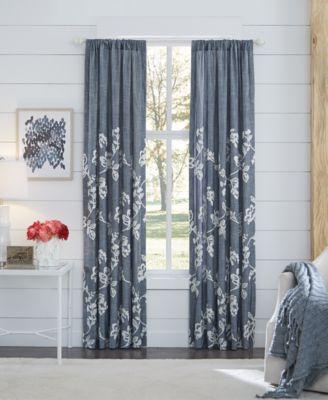 "Lucine Backtab Cotton 82"" x 84"" Window Drapery"